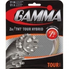 Gamma Zo / TNT2 Tour Hybrid 17g (Set) - Hybrid and 1/2 Sets Tennis String