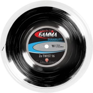 Gamma Zo Twist 16g Tennis String (Reel)