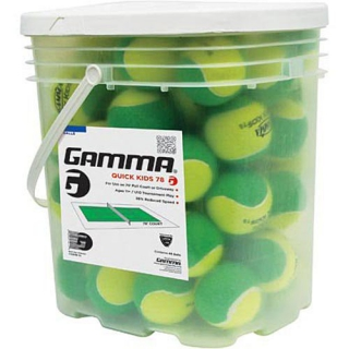Gamma Quick Kids 78 Green Tennis Balls (48 Ball Bucket)
