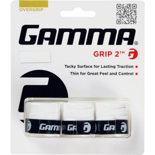 Gamma Grip 2 Tennis Racquet Overgrip (3-Pack)