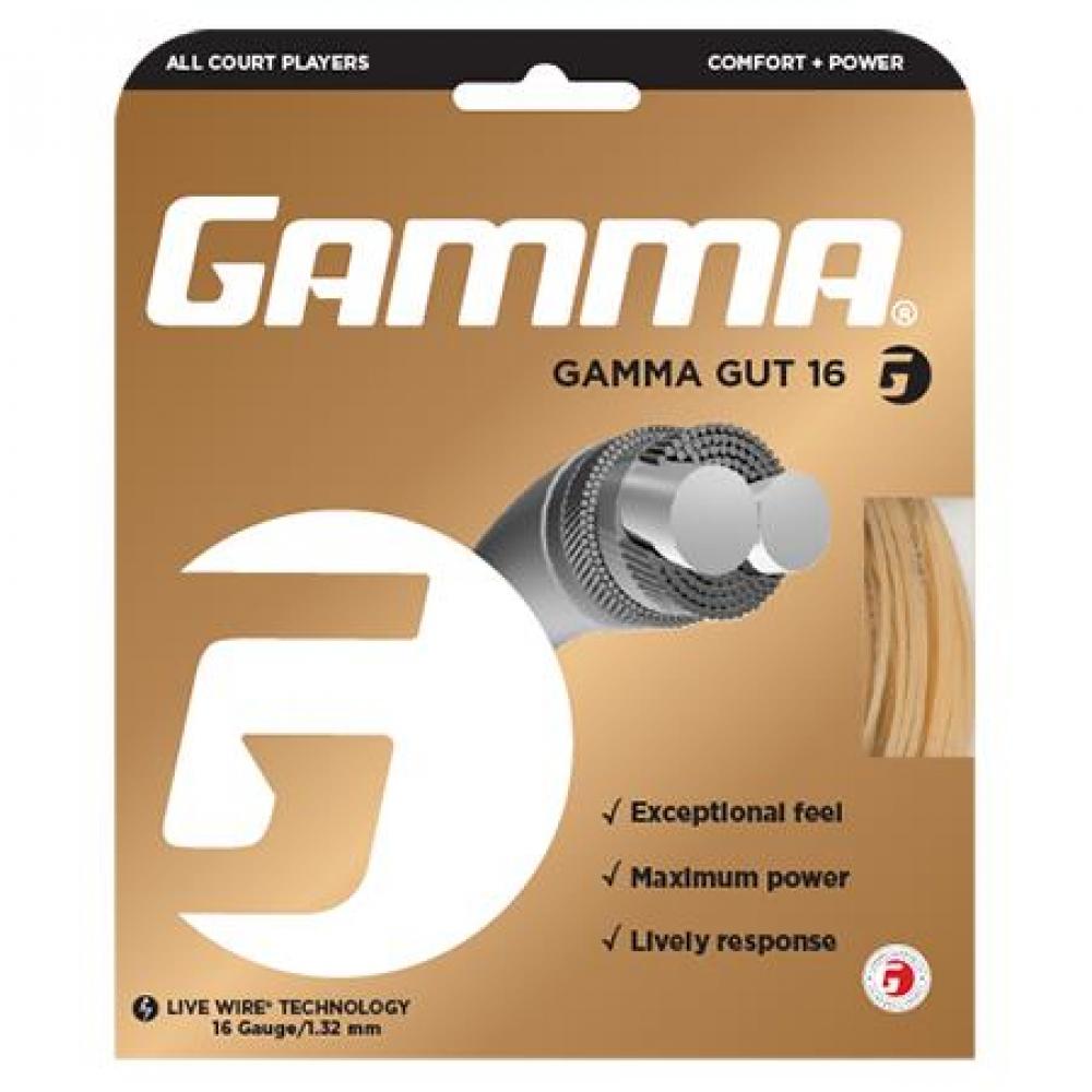 Gamma Gut 16g Tennis String (Set)