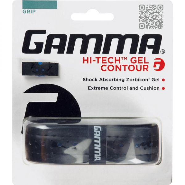 Gamma Hi-Tech Gel Contour Tennis Racquet Replacement Grip