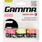Gamma Neon Dri Overgrip (3-Pack) - Tacky Over Grips