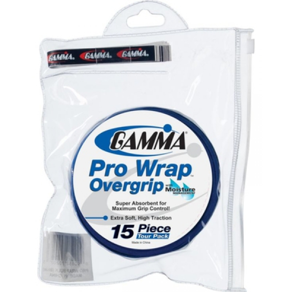 Gamma Pro Wrap Tour Pack (15 Overgrips)