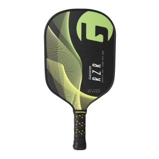 Gamma RZR Premium Poly Core Pickleball Paddle (Green/Yellow)