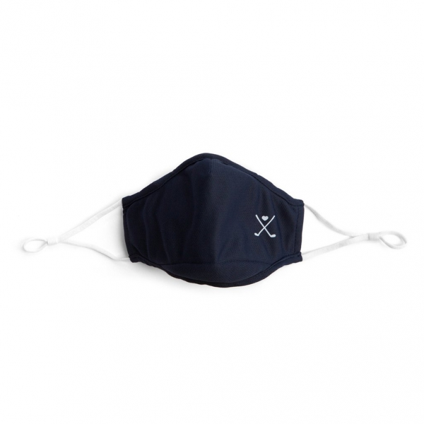 Ame & Lulu Golf Cool Fit Face Mask (Navy)