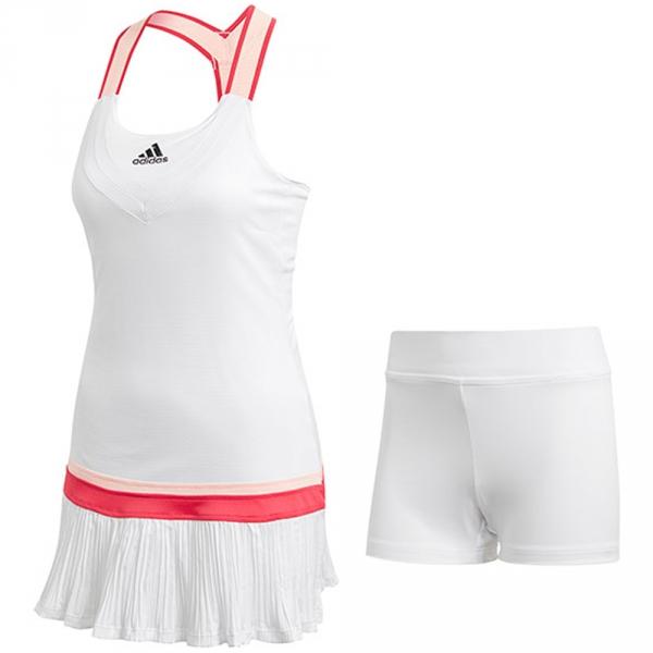 Adidas Women's Tennis Y-Dress (White)
