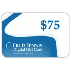 Gift Certificate $75 - Do It Tennis Gift Certificates