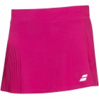 Babolat Girls Compete Tennis Skirt w/Built-in Shorts and Performance Polyester (Vivacious Red) - Girl's Bottoms