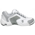 K-Swiss Women's Glaciator SCD (White/Silver) - K-Swiss Glaciator Tennis Shoes