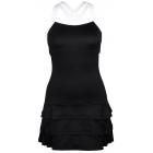 DUC Grace Women's Tennis Dress (Black/White) - Tennis Apparel Brands