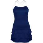 DUC Grace Women's Tennis Dress (Navy/White) - Tennis Apparel Brands