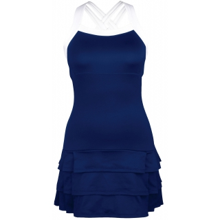 DUC Grace Women's Tennis Dress (Navy/White)