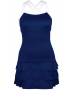 DUC Grace Women's Tennis Dress (Navy/White) - New Style Tennis Apparel