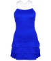 DUC Grace Women's Tennis Dress (Royal Blue/White) - New Style Tennis Apparel