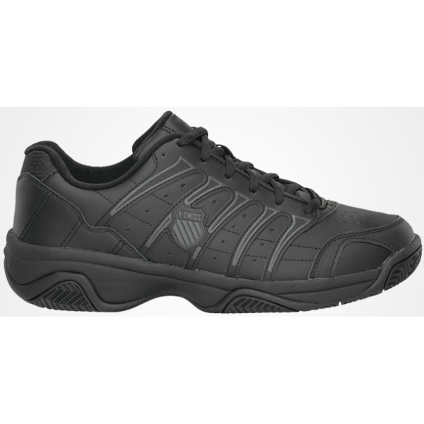 K-Swiss Men's Grancourt II Tennis Shoe (Black) Reg + Wide Widths