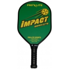 Pro-Lite Impact Graphite Paddle (Green) - Tennis Court Equipment
