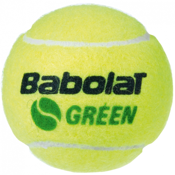 Babolat Kids Stay and Play Green Tennis Ball (3 Ball Can)