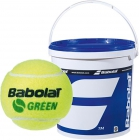 Babolat Kids Stay and Play Green Tennis Ball (72 Ball Bucket) - Babolat Junior Tennis