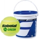 Babolat Kids Stay and Play Green Tennis Ball (72 Ball Bucket) - Training by Sport