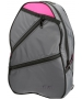 Maggie Mather Tennis Backpack (Grey) - Maggie Mather Tennis Totes & Bags