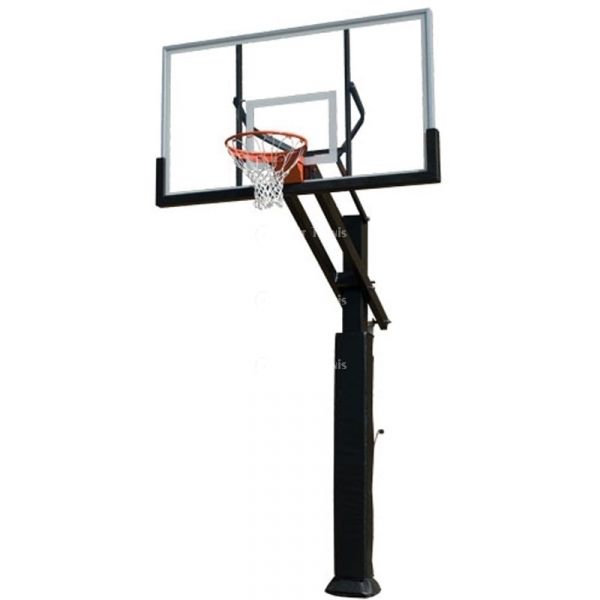 Grizzly Adjustable Basketball System, #1291247