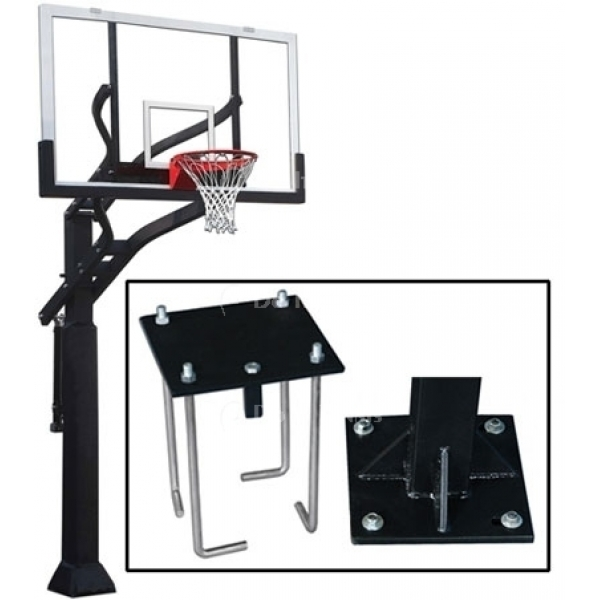 Grizzly Adjustable Basketball System 2, #1236163
