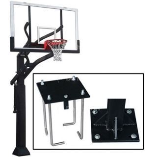Grizzly Adjustable Basketball System DR, #1236170