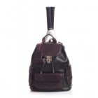 Court Couture Hampton Perforated Backpack (Black) - Court Couture Tennis Bags