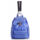 Court Couture Hampton Perforated Backpack (Blue) - Court Couture Tennis Bags