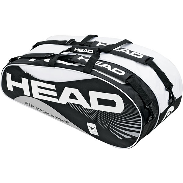 Head Atp Combi Black Tennis Bag