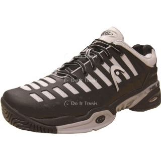 Head Men's Speed Pro Tennis Shoes (Black/ Silver)