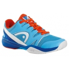 Head Nitro Junior Tennis Shoes (Blue/Flame) - Head Tennis Shoes