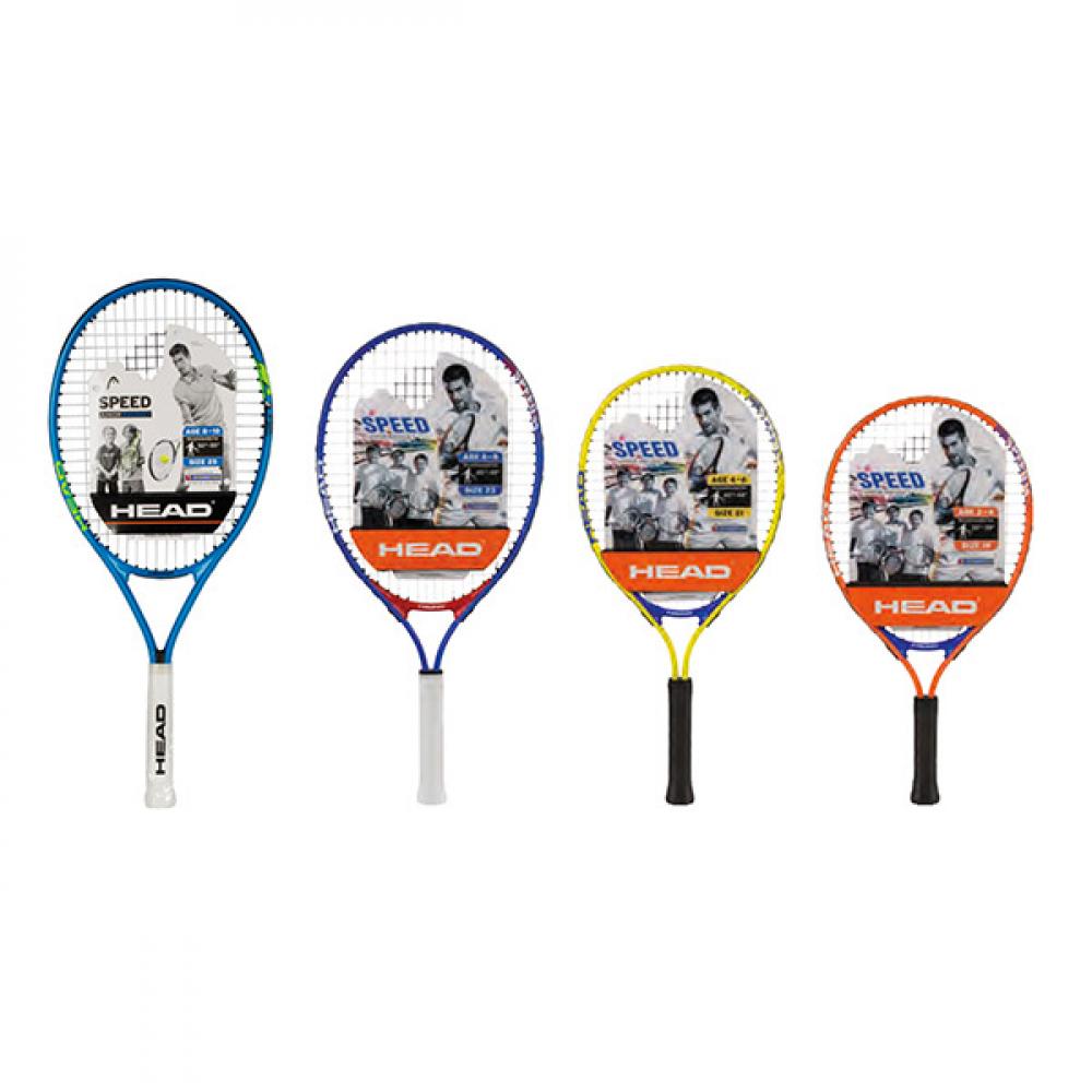 HEAD Speed Junior Tennis Racquet, Penn Control+ Green Dot Tennis Balls