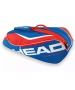 Head Tour Team 6 Pk Combi Tennis Bag (Blue/Red) - Tour Team Series