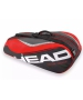 Head Tour Team 6 Pk Combi Tennis Bag (Red/Black) - Tour Team Series