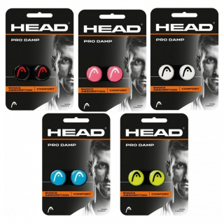 Head Pro Damp Tennis Racquet Vibration Dampener (Assorted Colors)