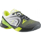 Head Men's Revolt Pro Tennis Shoes (Grey/ Wht/ Neon Ylw) - Brands