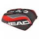 Head Tour Team 12 Pk Monstercombi Tennis Bag (Red/Black) - Head Tennis Bags