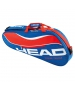 Head Tour Team 3 Pk Pro Tennis Bag (Blue/Red) - Tour Team Series