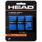 Head Xtreme Soft Pickleball Paddle Overgrip (Blue) - Pickleball Equipment Brands