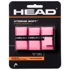 Head Xtreme Soft Pickleball Paddle Overgrip (Pink) - Pickleball Equipment Brands