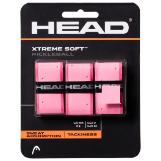Head Xtreme Soft Pickleball Paddle Overgrip (Pink)