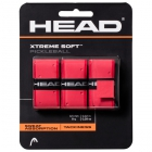 Head Xtreme Soft Pickleball Paddle Overgrip (Red) - Pickleball Paddles, Balls, Bags and Court Equipment