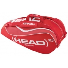 Head Tour Team Combi Tennis Bag (Red/White) - Head Tour Team Series Tennis Bags