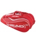 Head Tour Team Combi Tennis Bag (Red/White) - Brands