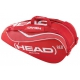 Head Tour Team Combi Tennis Bag (Red/White) - MAP Products