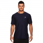 Head Men's Score Hypertek Tennis Crew (Navy Heather) - HEAD Tennis Apparel