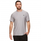 Head Men's Score Hypertek Tennis Crew (Sleet Heather) - HEAD Tennis Apparel