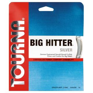 Tourna Big Hitter Silver 16g Tennis String (Set)